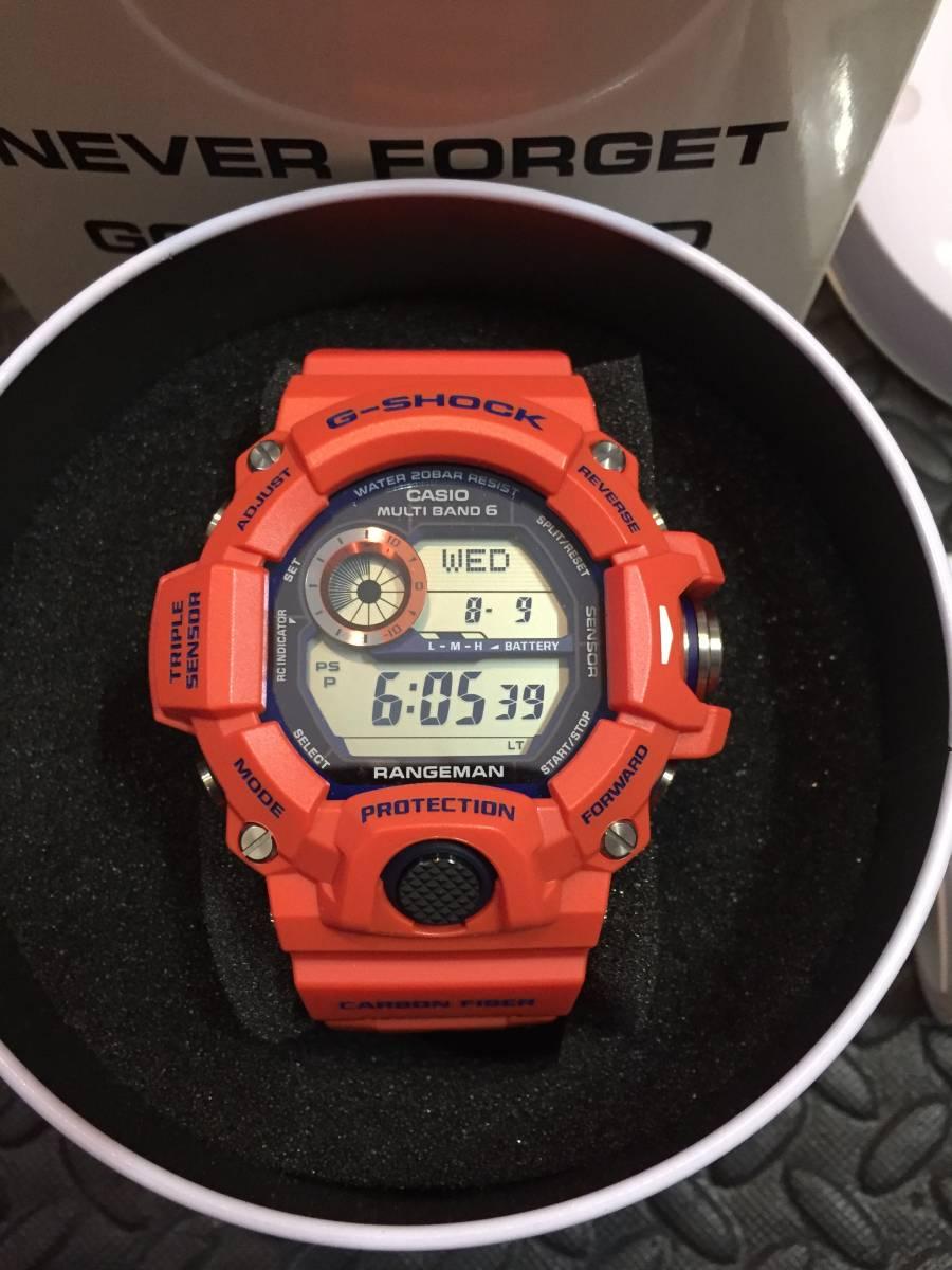 未使用新品 GW-9400FBJ-4JR CASIO G-SHOCK レンジマン 神戸市消防局 コラボ カシオ