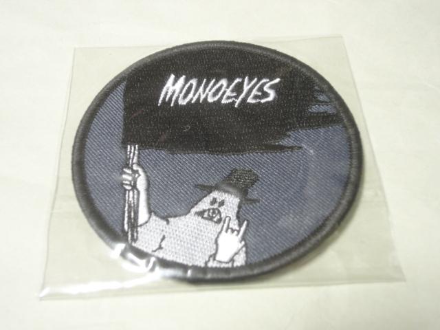 【即決!交渉可!送料無料!】 新品 MONOEYES ワッペン 灰色 / モノアイズ グレー