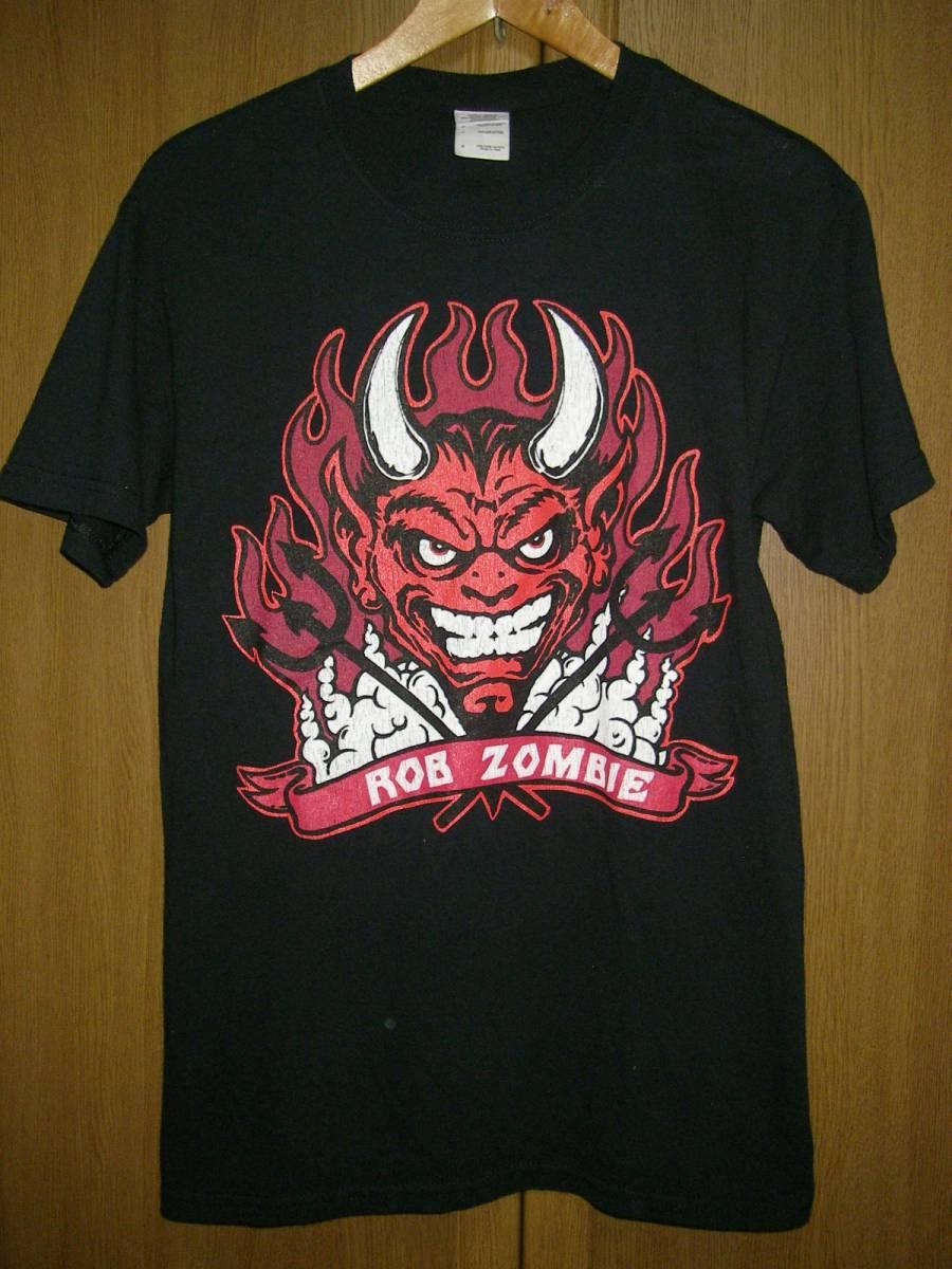 ロブゾンビ 黒 ブラック Tシャツ S ホワイトゾンビ