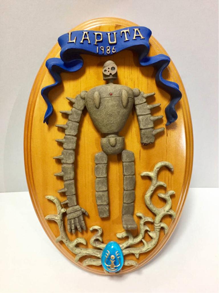 天空の城ラピュタ 壁掛けアート ジオラマ ロボット兵 ジブリ グッズの画像