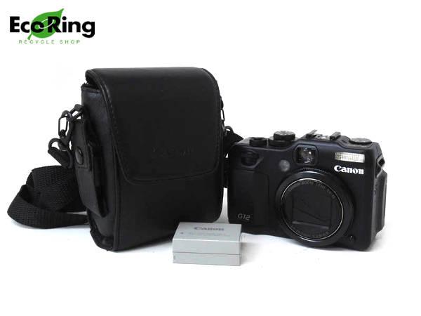 1円 超美品 キャノン パワーショット G12 コンパクト デジタル カメラ HD844