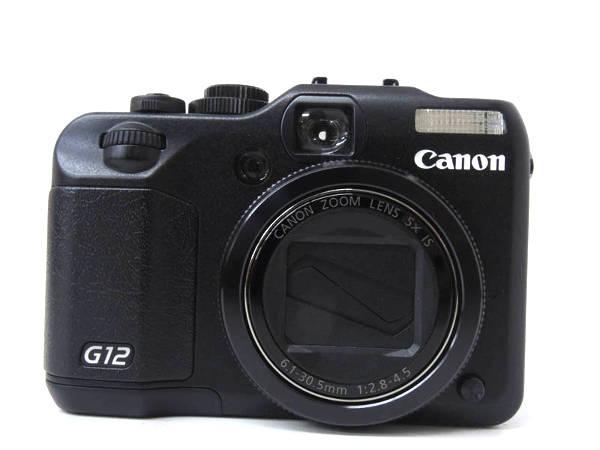1円 超美品 キャノン パワーショット G12 コンパクト デジタル カメラ HD844_画像3