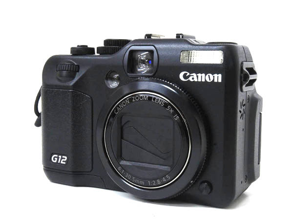 1円 超美品 キャノン パワーショット G12 コンパクト デジタル カメラ HD844_画像2