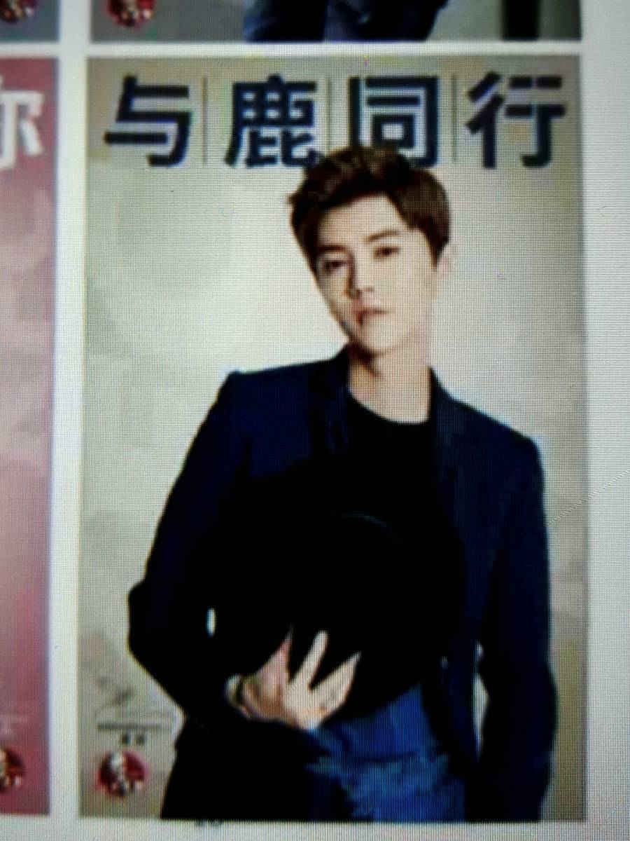 ◆ exo ルハン Luhan 鹿晗 中国 KFC 期間限定 非売品 ポスター レア ライブグッズの画像