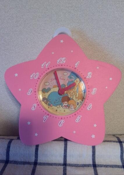 キキララ 星形 壁掛け時計 ポリウレタン?ゴム製 2004年製 グッズの画像