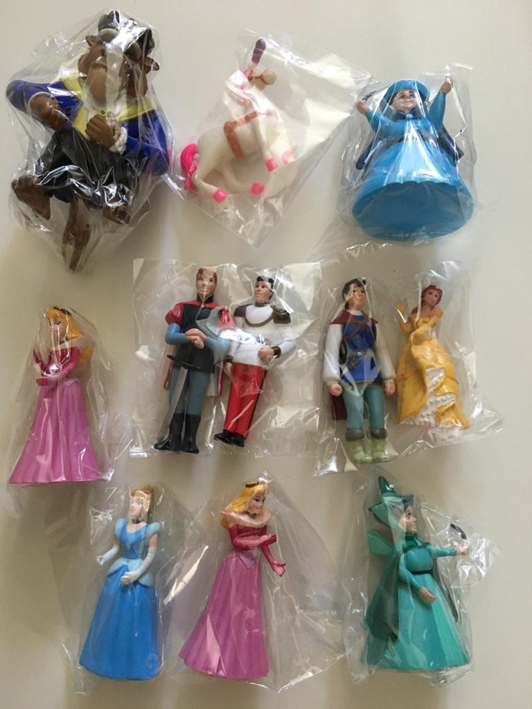 新品 プリンセス ディズニー 仲間達 セット価格 美女と野獣 シンデレラ オーロラ姫 おもちゃ フィギュア ディズニーグッズの画像