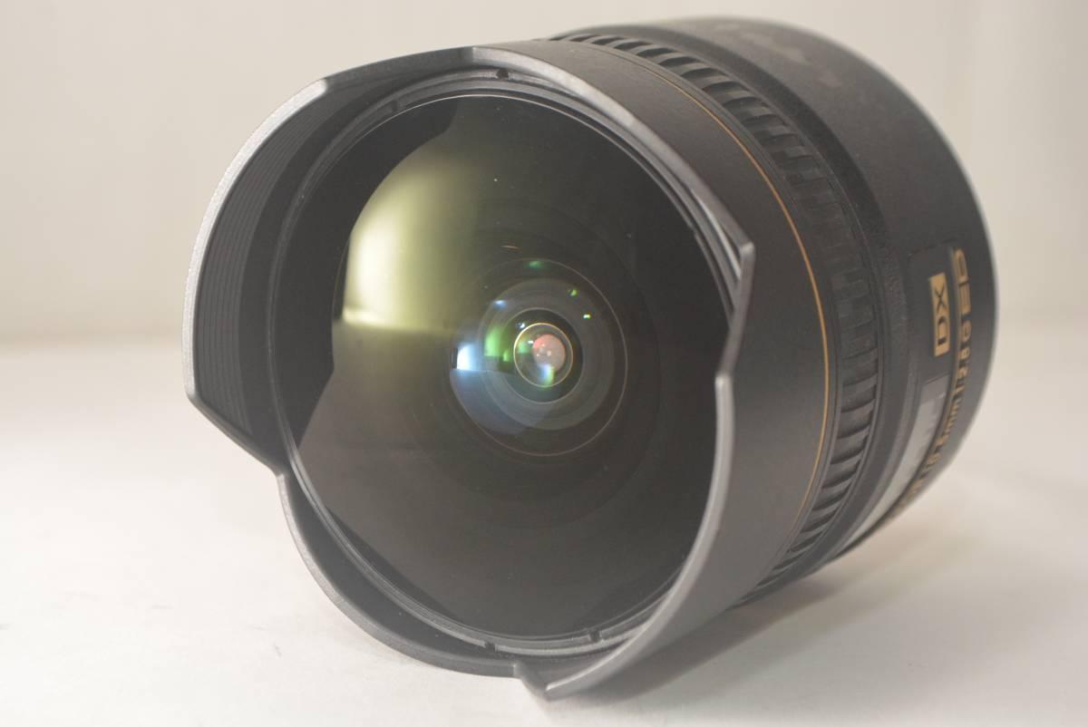 ★良品★ニコン NIKON AF FISHEYE NIKKOR 10.5mm F2.8 G ED DX