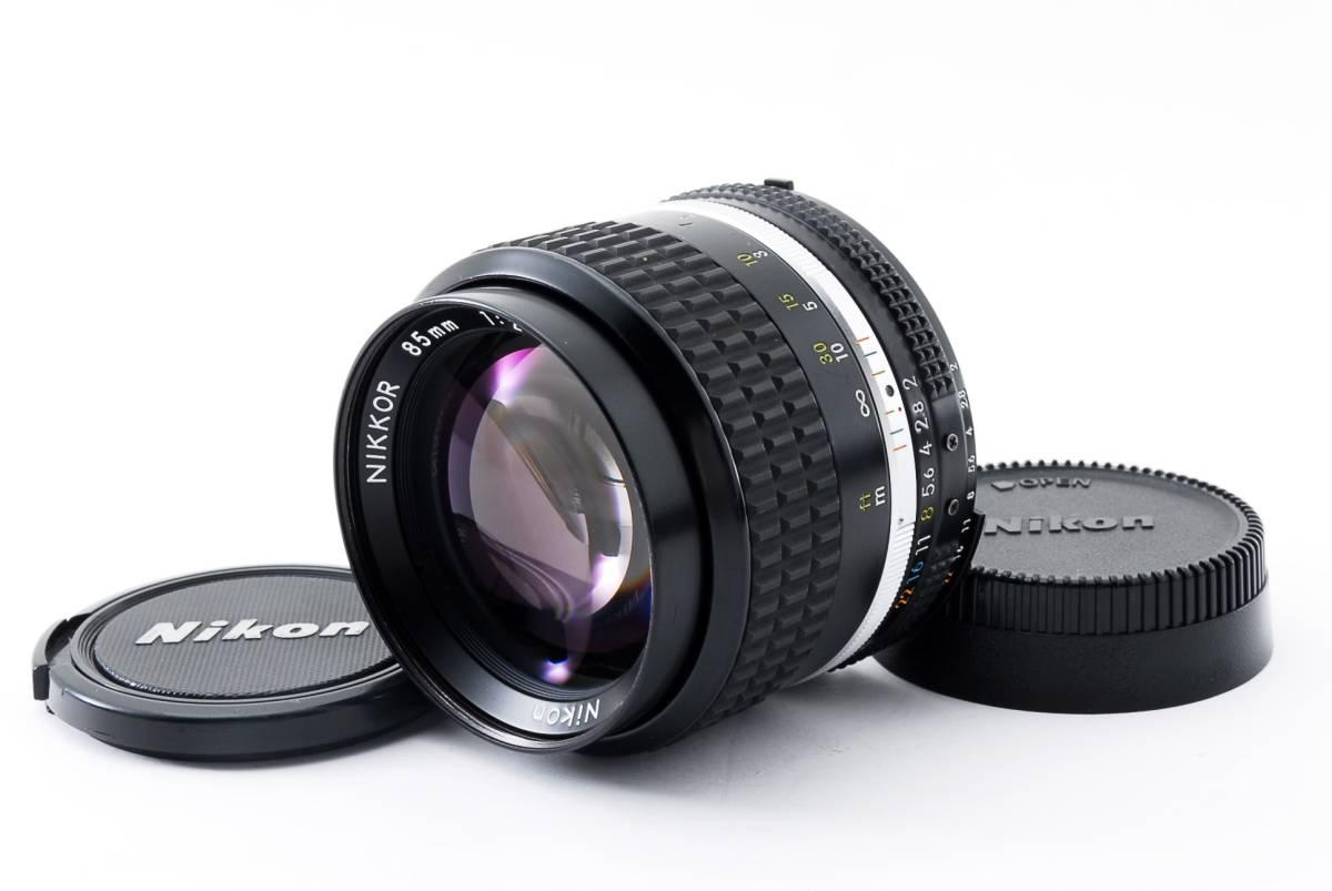 ★極上品★ ニコン Nikon Ai-s NIKKOR 85mm F2 #436