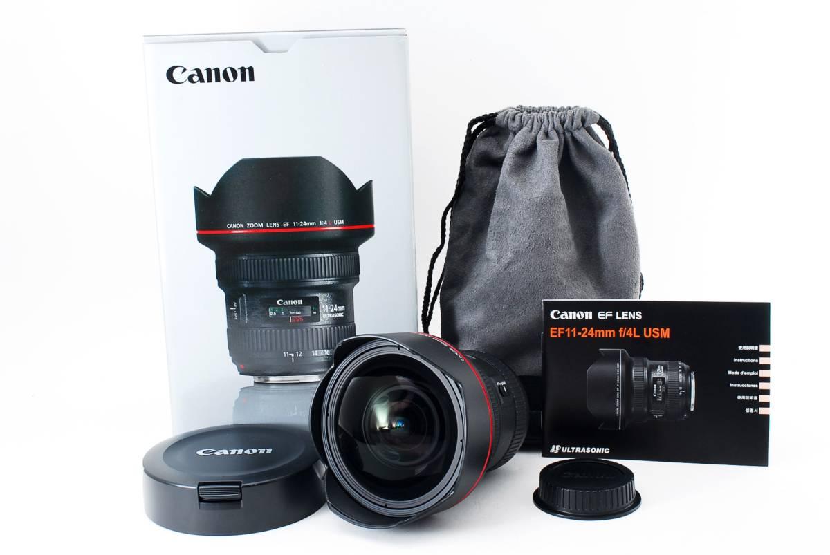 ★極上品★ キャノン Canon EF 11-24mm f 4L USM 付属品多数有り♪ #478