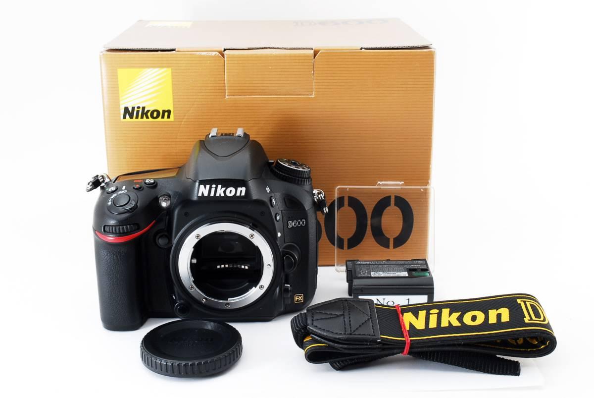 ★完動・美品★ ニコン Nikon D600 ボディ 付属品多数有り♪ #484