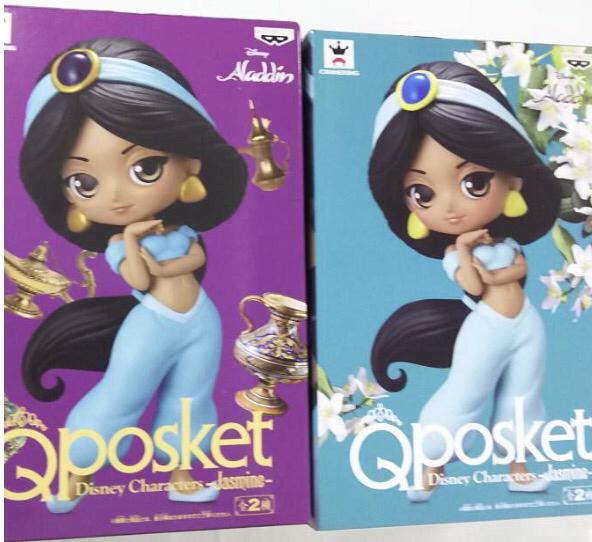 新品 qposket disney characters ディズニー キャラクターズ ジャスミン 通常カラー レアカラー 全2種セット ディズニーグッズの画像