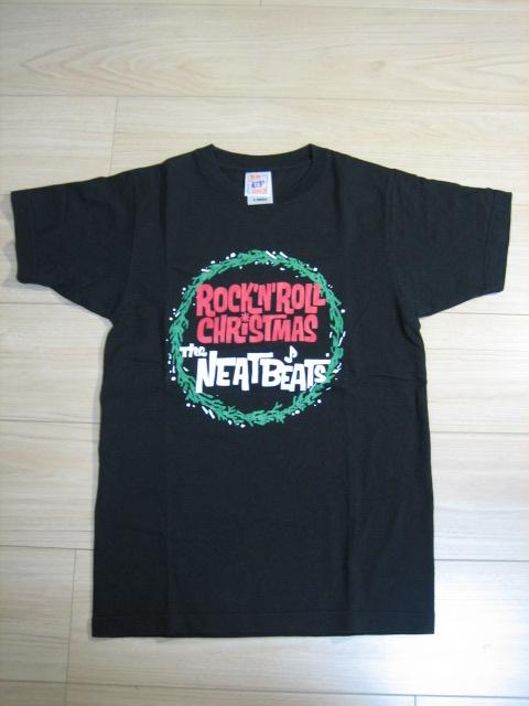 ★未着用 美品 THE NEATBEATS ニートビーツ ROCK'N ROLL CHRISTMAS Tシャツ 2006年★