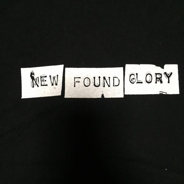 NEW FOUND GLORY Tシャツ ニューファンドグローリー XL バンド ロック パンク メロコア エモ WEEZER ビッグT バンT ロックT