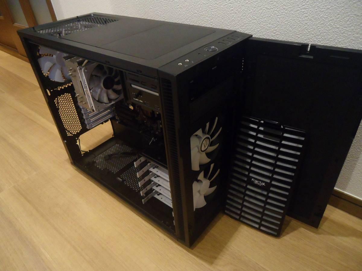 fractaL Define R5 フラクタル Z97-PROGAMER CPU dorei5 windows 7 メモリー16GB その他多数あり