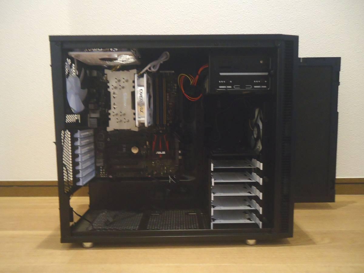 fractaL Define R5 フラクタル Z97-PROGAMER CPU dorei5 windows 7 メモリー16GB その他多数あり_画像2