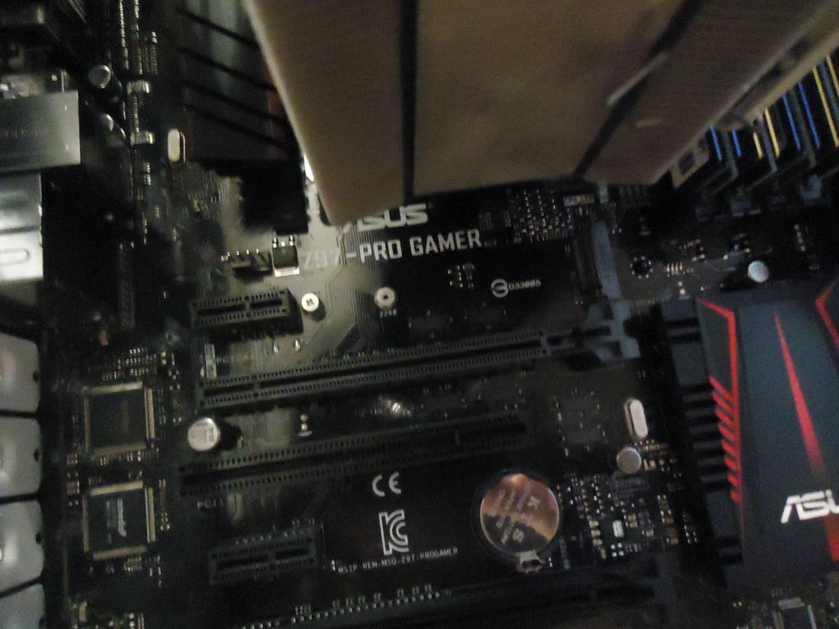 fractaL Define R5 フラクタル Z97-PROGAMER CPU dorei5 windows 7 メモリー16GB その他多数あり_画像3