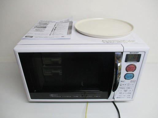 【消費税なし・新品同様品】RE-S5D-W/シャープ/SHARPオーブンレンジ/15L/ホワイト系/16年
