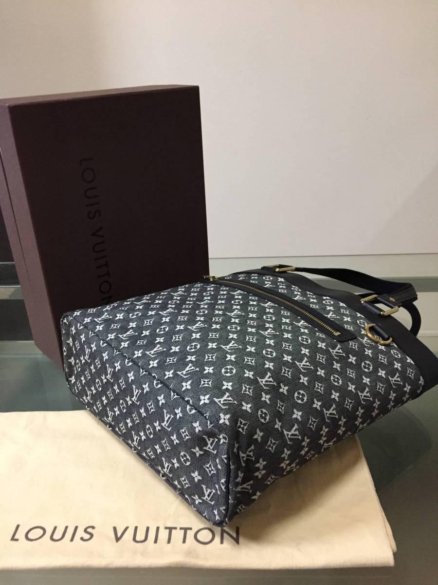新品同様 ルイヴィトン モノグラム・ミニ ブラック バッグ ルシーユGM 箱付き_画像2