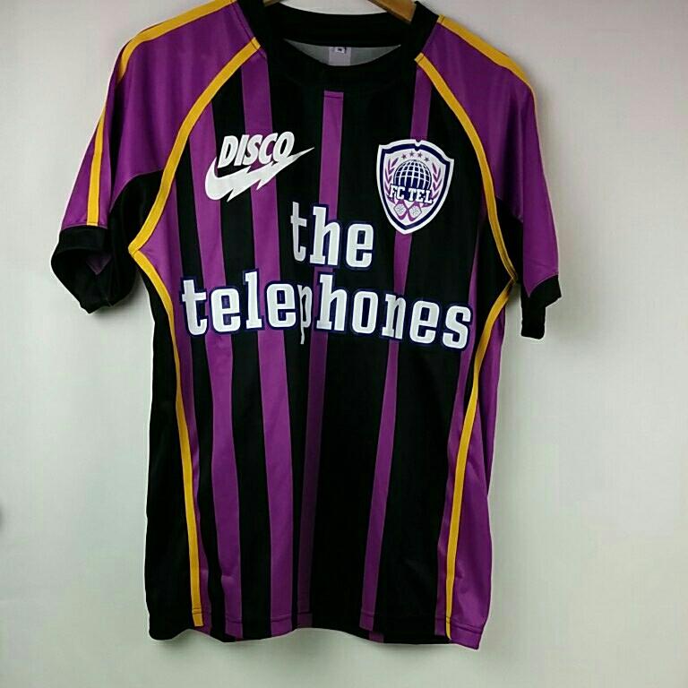the telephones サッカー Tシャツ ユニフォーム Mサイズ テレフォンズ グッズ/タオルTシャツ 2434