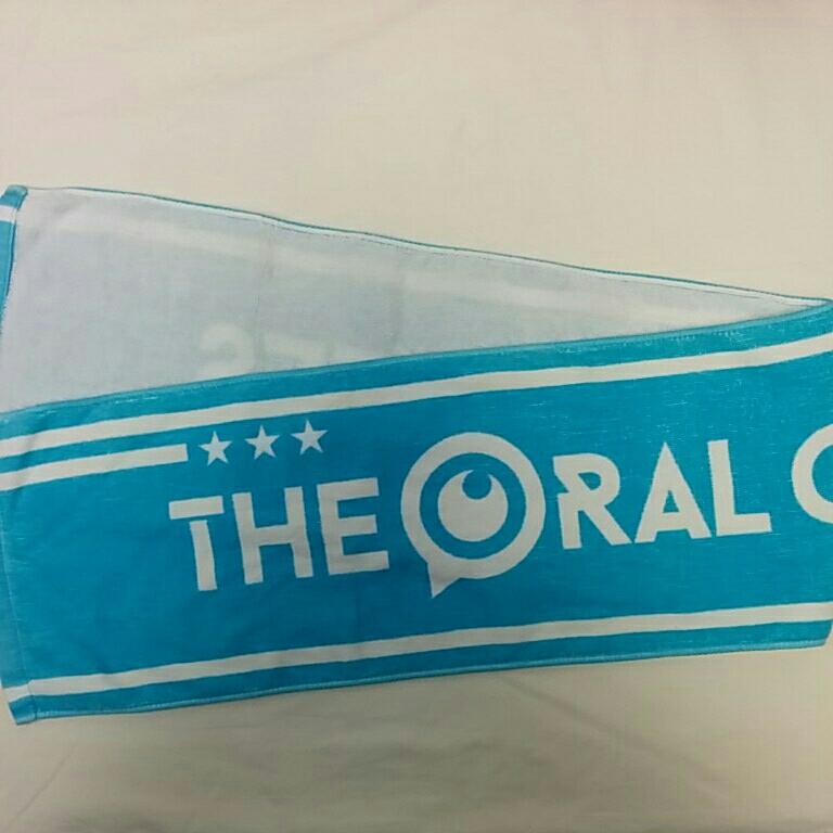 THE ORAL CIGARETTES マフラータオル 青 2625