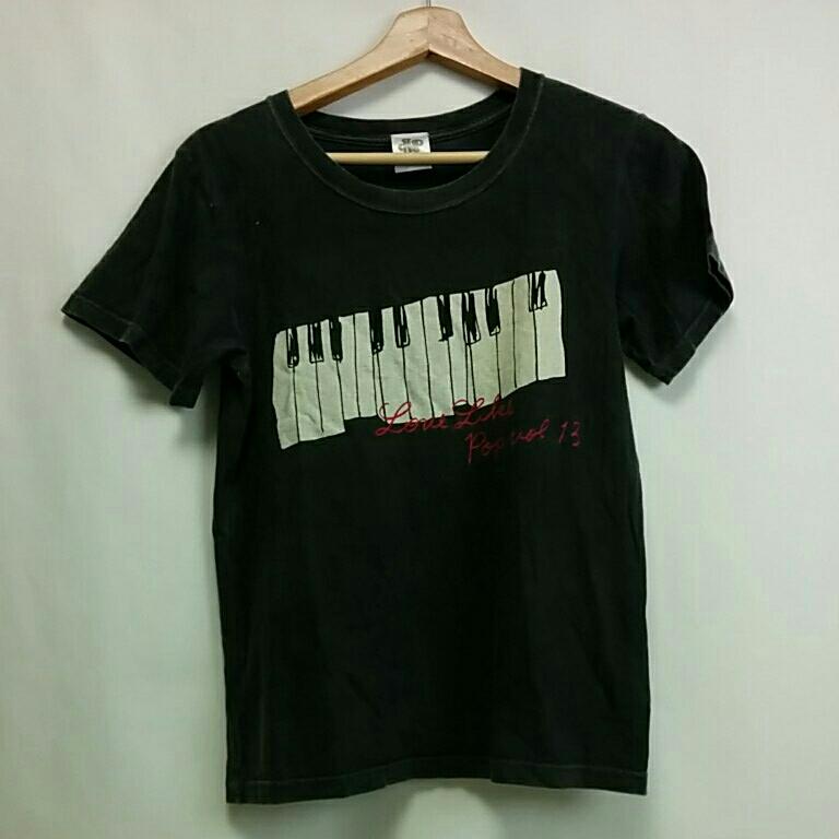 aiko ツアーグッツ LLP13 LoveLikePop vol13 ピアノ Tシャツ グレー ドチビ  2600