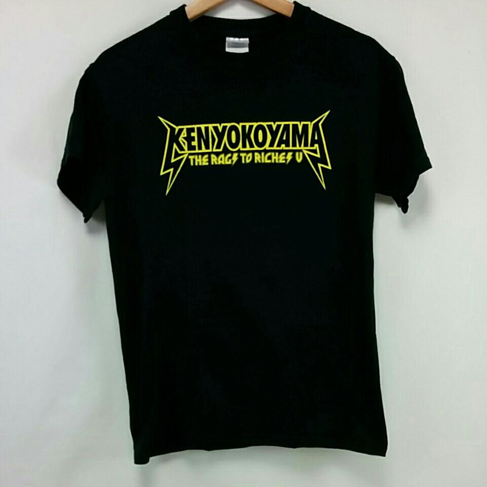 Ken yokoyama The Rags To Riches Tour Ⅴ Tシャツ Sサイズ PIZZA OF Death WANIMA 横山健 2391