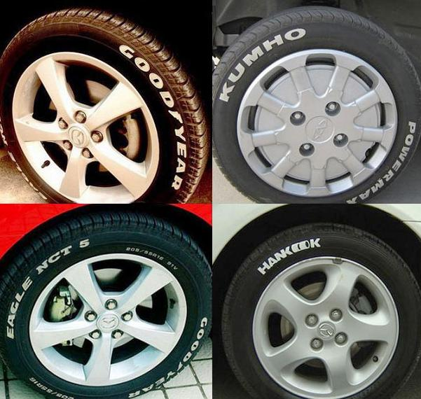 タイヤペイントマーカー タイヤペン ペイント タイヤ文字 白 タイヤマーカー ホワイトレター ホワイトリボン マジック_画像3