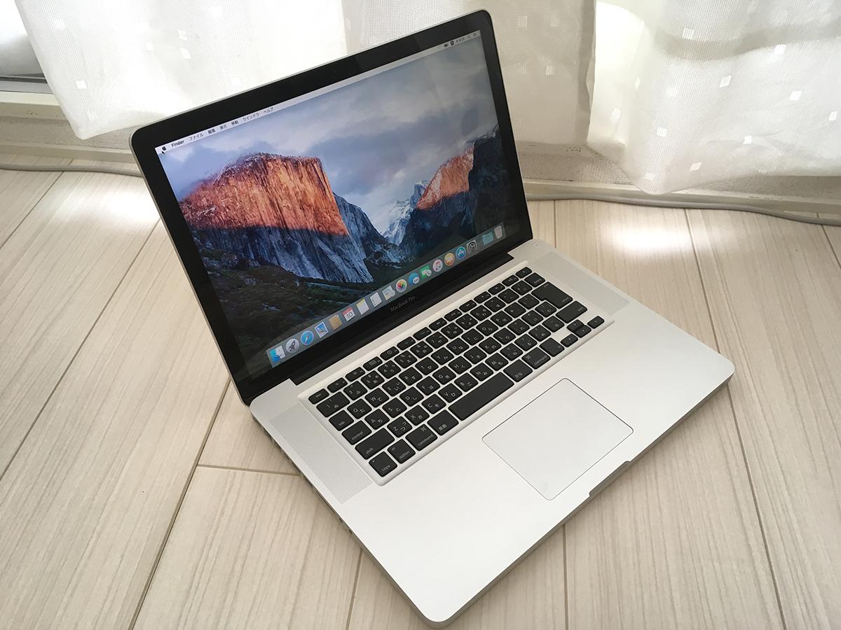 超得・プロ仕様★ MacBook Pro 15 / core i7 / 新メモリ8GB 新SSD240GB 新品純正バッテリ