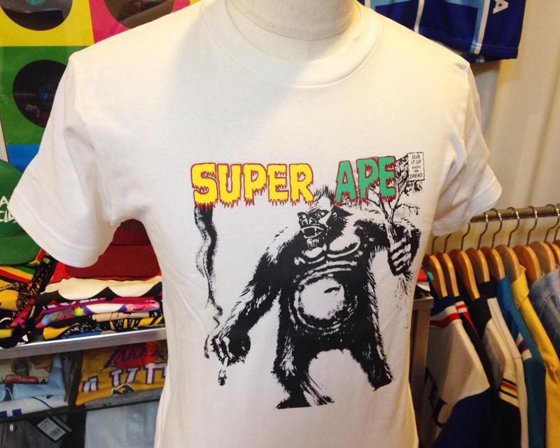 ■ Lee Scratch Perry リー・ペリー SUPER APE スーパー・エイプ Tシャツ DUB SETTER 白 サイズS