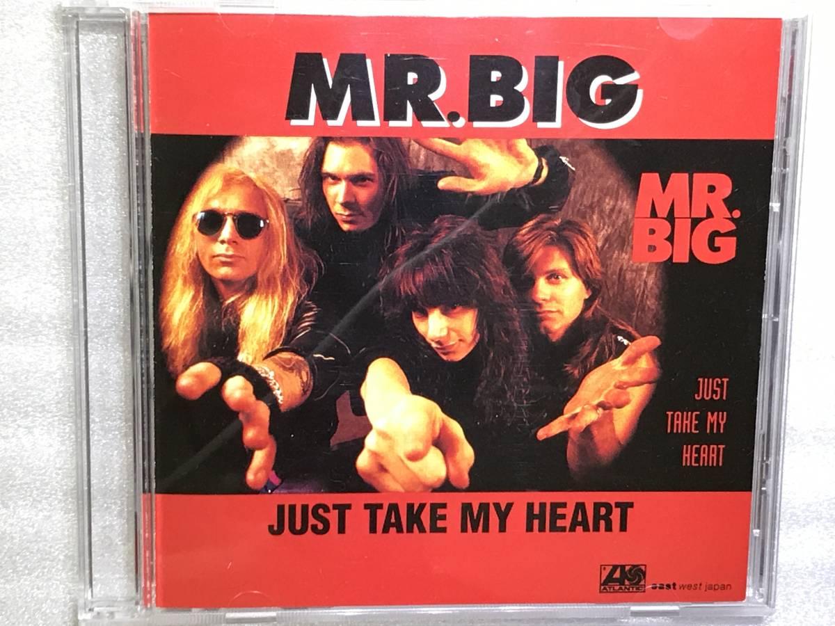 ※  MR.BIG  ※  Just Take My Heart ※ 国内盤シングルCD_画像1