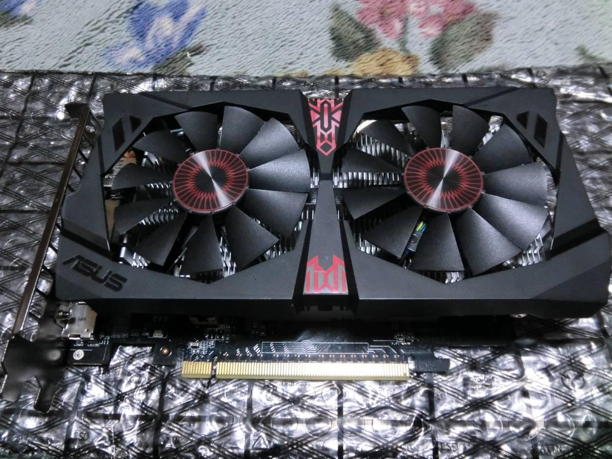 グラフィックボード ASUS STRIX-GTX750TI-OC-2GD5 GeForce GTX 750 Ti 2GB GDDR5 補助電源不要