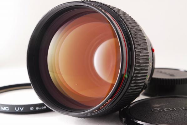 Canon キャノン FD85mm F1.2 美品