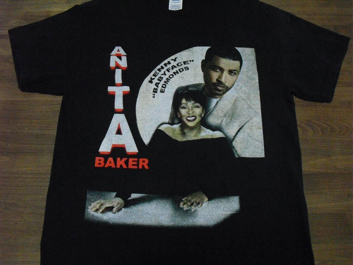 アニタ・ベイカー Anita Baker Babyface Tシャツ (DELTA製)