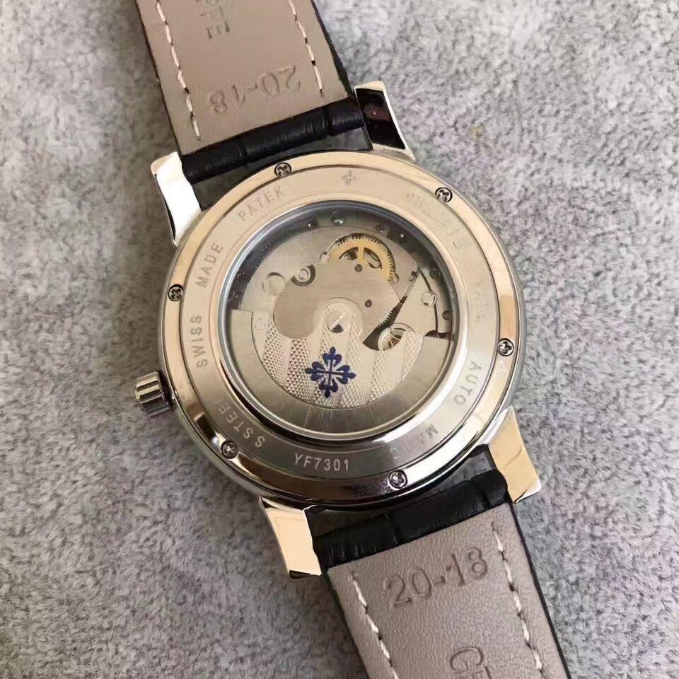 新品 パテックフィリップ メンズ 自動巻き ステンレス Patek Philippe 男性用腕時計 _画像3