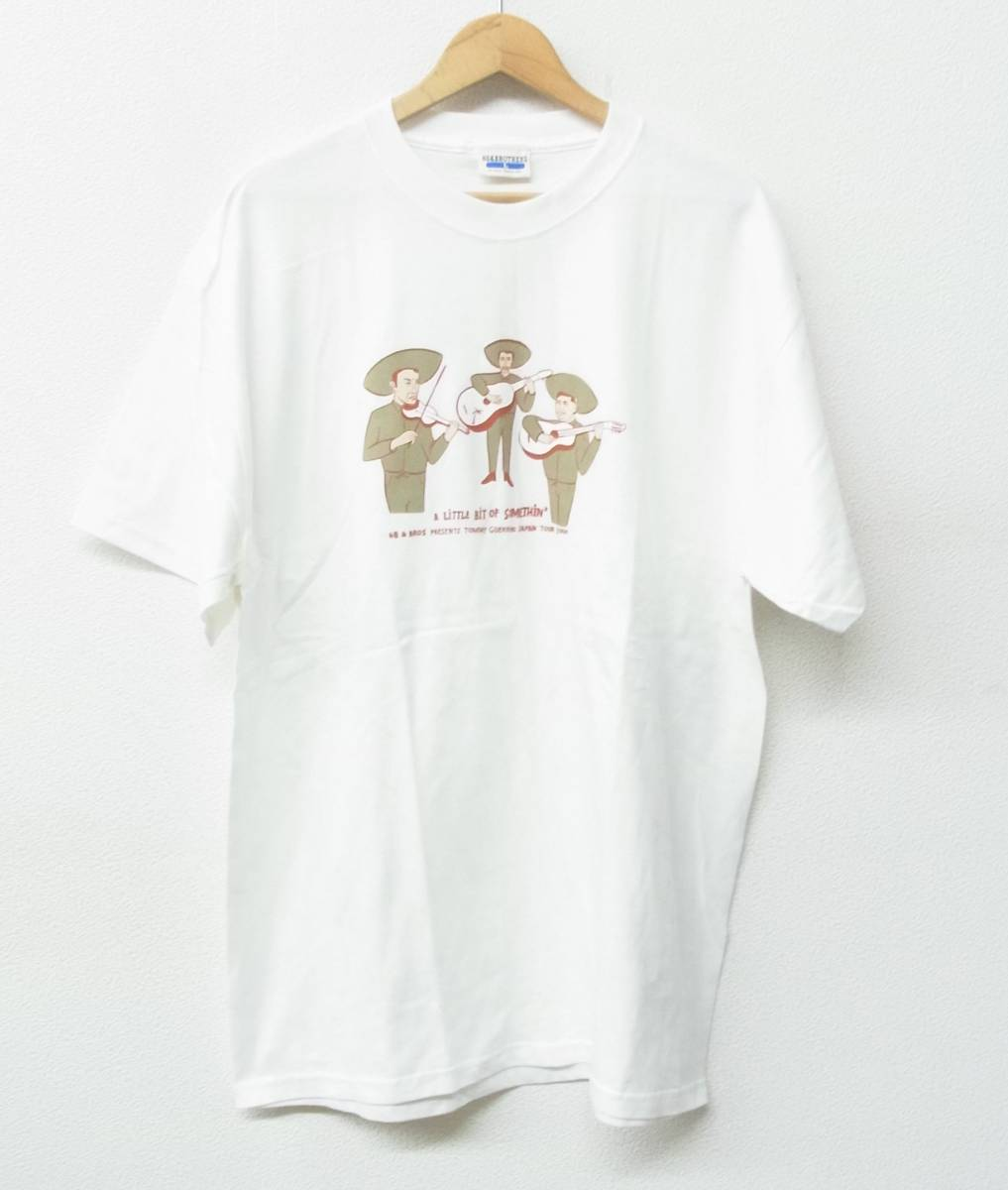 68&BROTHERS PRESENTS Tommy Guerreroトミーゲレロ 2000 JAPAN TOUR Tシャツ *COLOR WHITE マリアッチ*MADE IN USA*MEDIUM ②