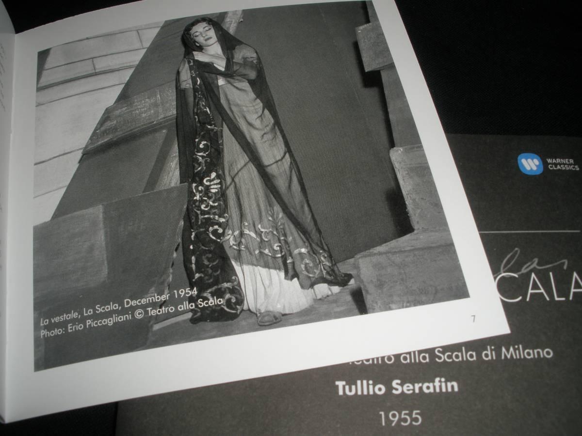 マリア・カラス ベッリーニ 夢遊病の女 ケルビーニ メデア セラフィン スカラ座 リマスター 未使用美品 Bellini Maria Callas At Scala_ブックレット付き。CD内袋入り。