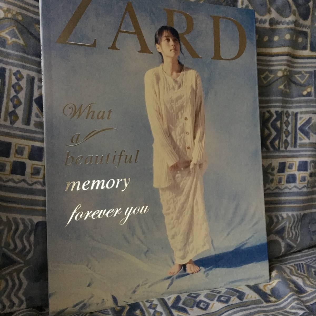 @2011年 ZARD ライブ写真集 WHAT a beautiful memory ~forever you 坂井泉水@ ライブグッズの画像