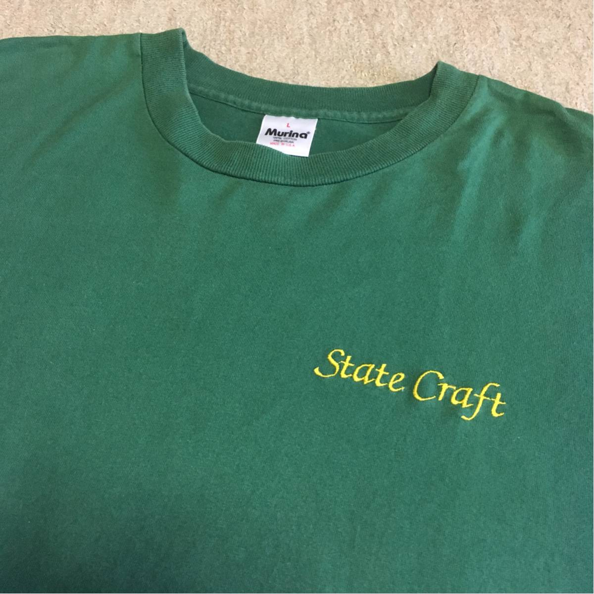 State Craft Tシャツ loyal to the grave numb etrnal B no care switch style bounty hunter gism sick of it all cocobat brahman ライブグッズの画像