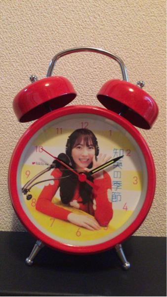 【新品・未使用】知英 JY 「知英の季節」めざまし時計