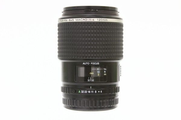 PENTAX smc PENTAX-FA 645 MACRO F4 120mm 中望遠レンズ 単焦点 中判カメラ用 交換レンズ 美品 送料無料 1円オークション