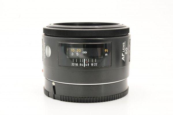 MINOLTA ミノルタ AF 50mm F1.4 単焦点レンズ 標準 一眼レフカメラ用 交換レンズ 送料無料 1円オークション