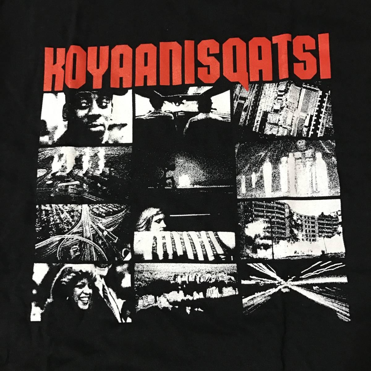 ratbrain KOYAANISQATSI Tシャツ L/コヤニスカッティ brain dead ブレインデッド pleasures フランシスフォードコッポラ フィリップグラス