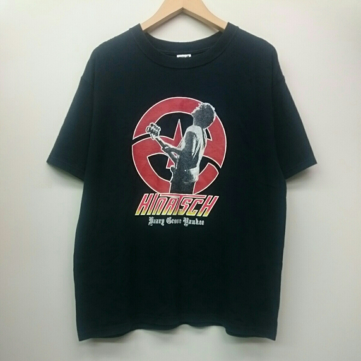 STRAIGHTENER ストレイテナー 日向秀和 anvil ひなっちTシャツ Mサイズ ロックバンド ライブグッズの画像