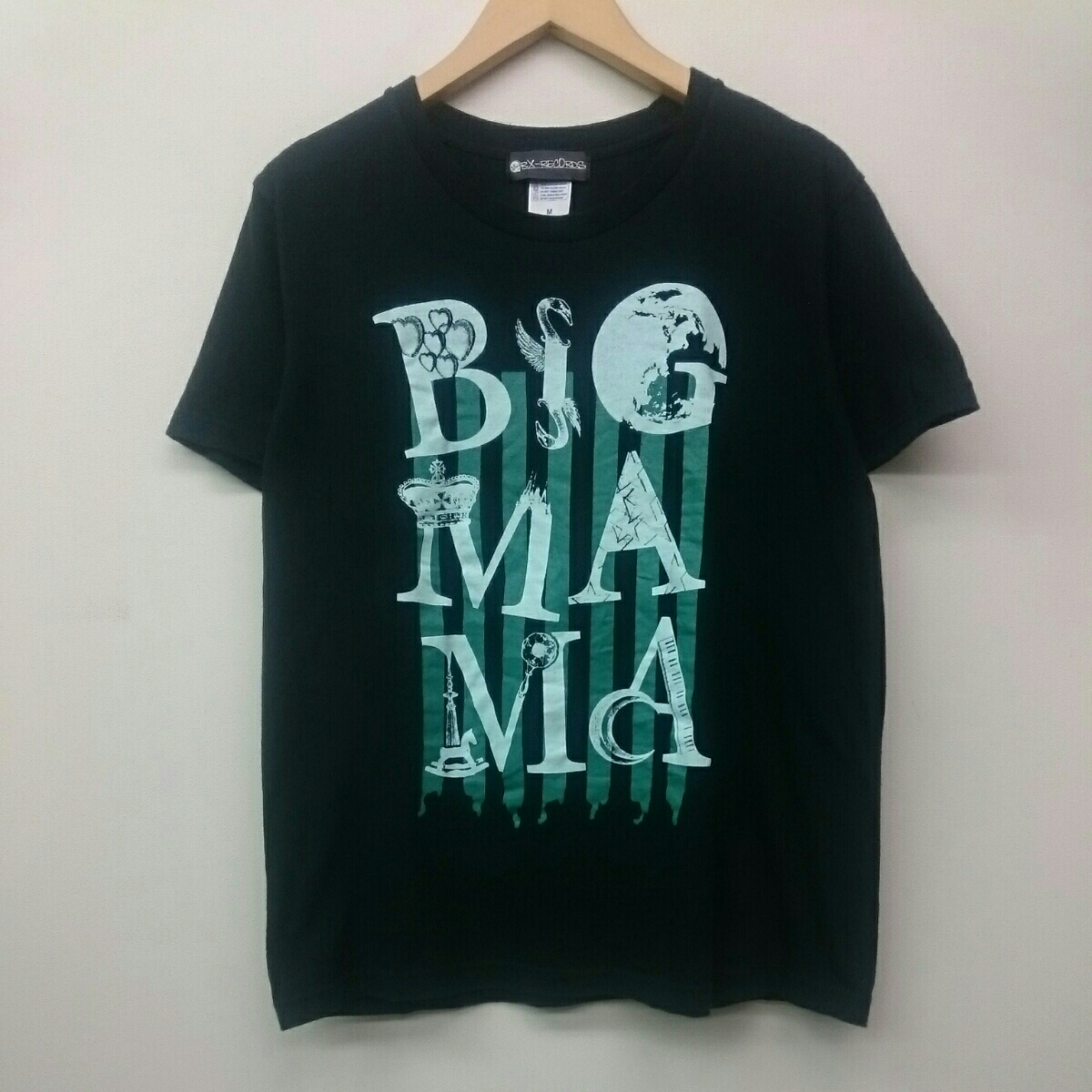 BIGMAMA ビッグママ Roclassick TOUR 2014 RX-RECORDS Tシャツ Mサイズ ロックバンド ライブグッズの画像