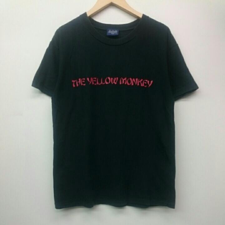 90年代 THE YELLOW MONKEY ザ・イエロー・モンキー イエモン PUNCH DRUNKARD TOUR 1998/99 BOWINMAN Tシャツ ロックバンド vintage ライブグッズの画像