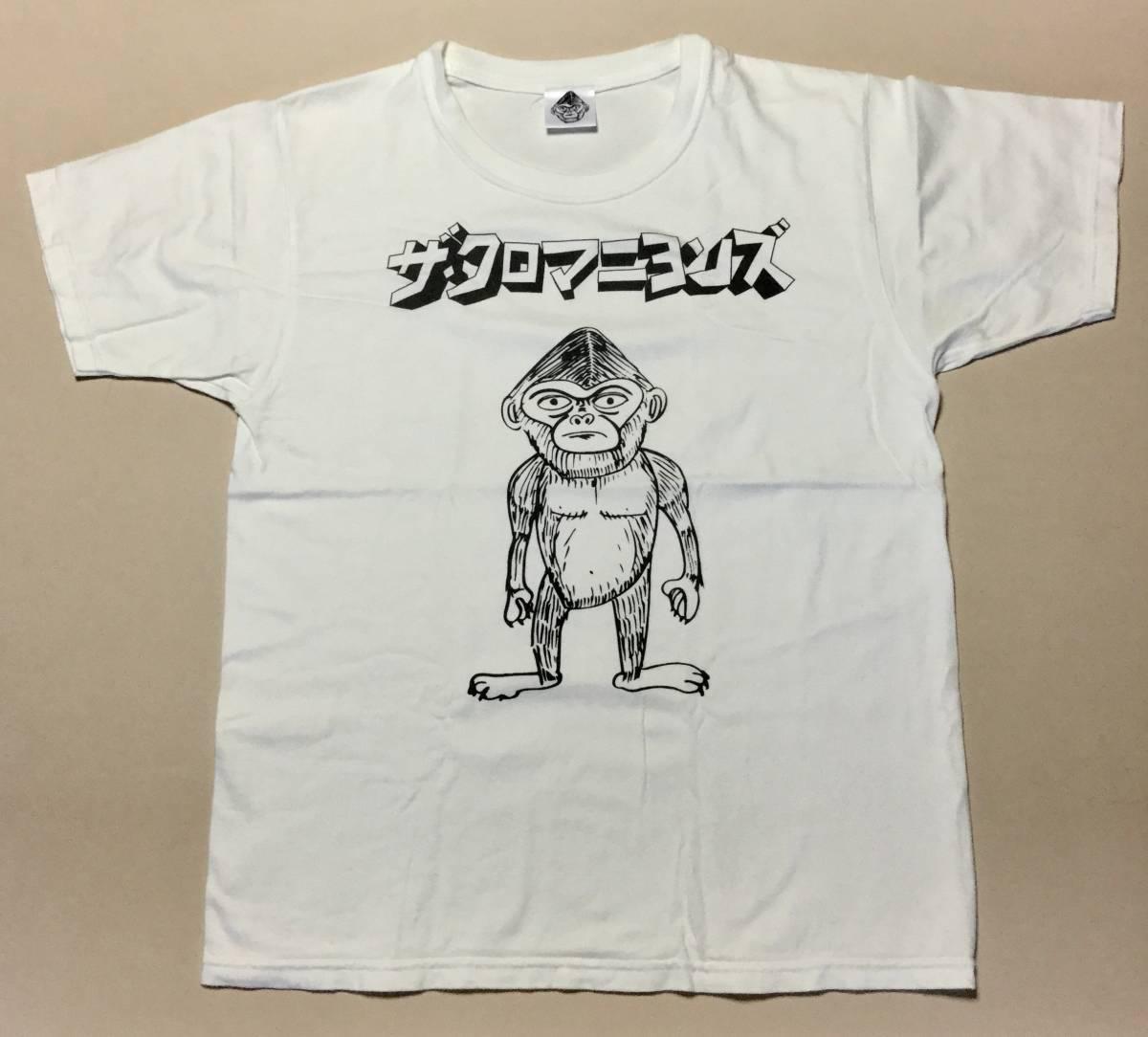 ザ・クロマニヨンズ ツアーTシャツ 中古 ライブグッズの画像
