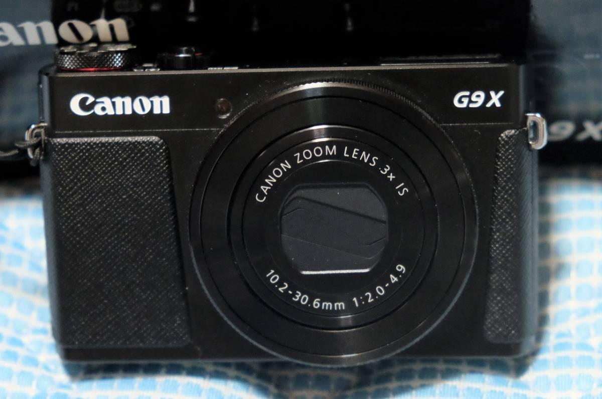 【美品】Canon PowerShot G9X 保証有