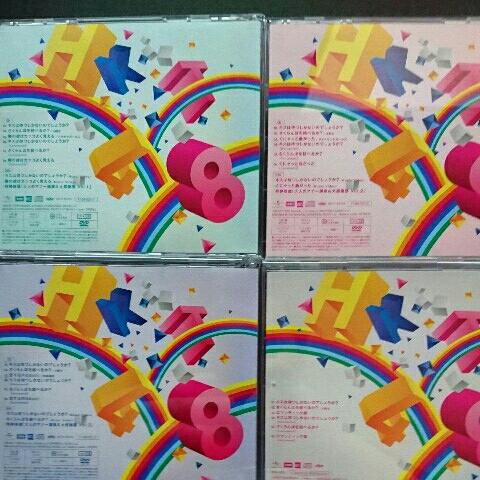HKT48 キスは待つしかないのでしょうか? 初回限定盤ABC+劇場盤 CD+DVD 4枚_画像2