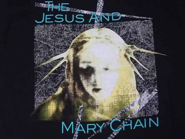 【 90S THE JESUS AND MARY CHAIN 】 ヴィンテージ Tシャツ ジザメリ 当時物 本物 黒 シングルステッチ / nirvana dinosaur jr blur pixies