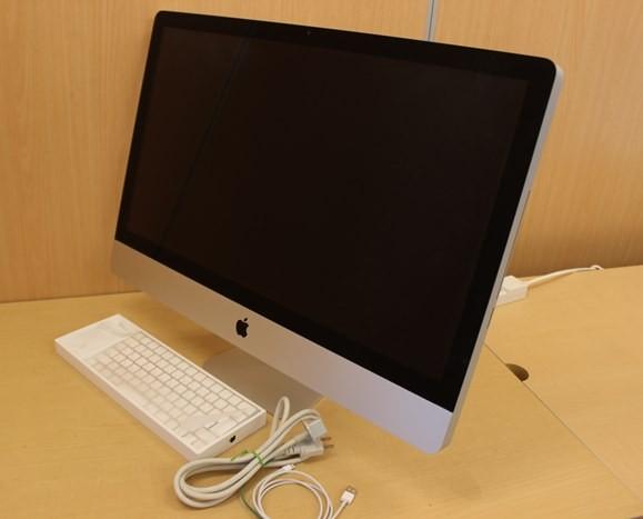iMac A1312 27インチ HDD不良 ジャンク 通電のみ キーボード・マウス付